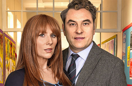 David Walliams and Catherine Tate in 'Big School'