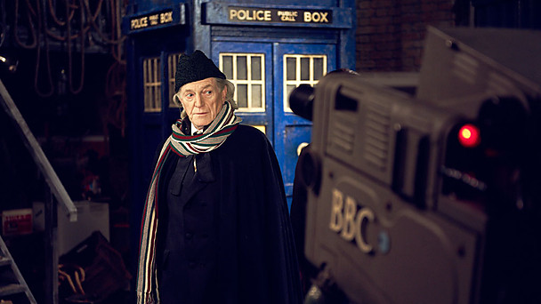 David Bradley as William Hartnell in 'An Adventure In Space and Time'