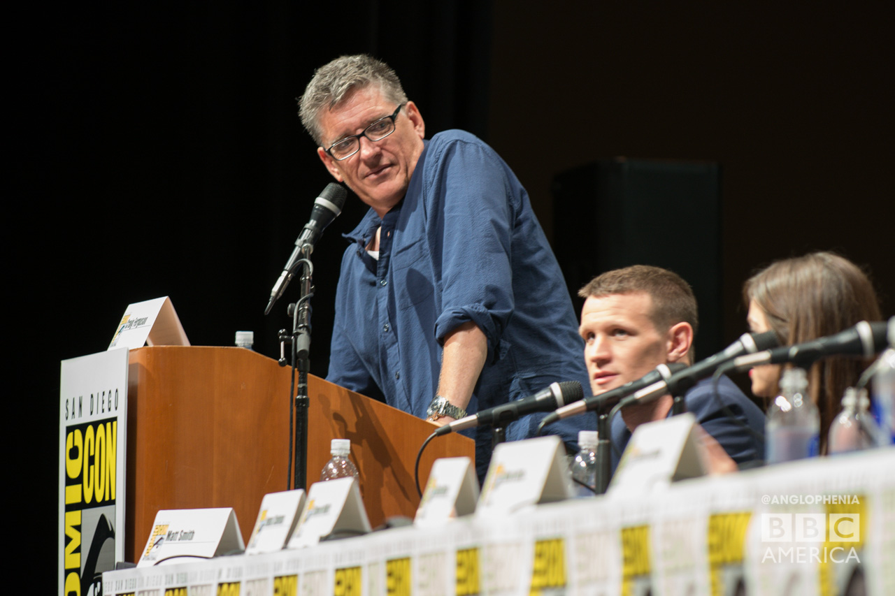 Craig Ferguson at the 'Doctor Who' 50th anniversary panel. (Photo: Dave Gustav Anderson)