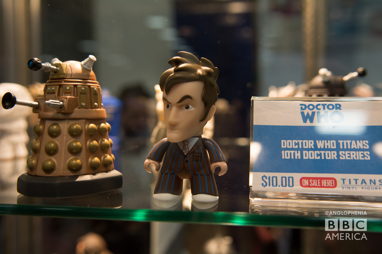Tenth Doctor figurine. (Photo: David Gustav Anderson)