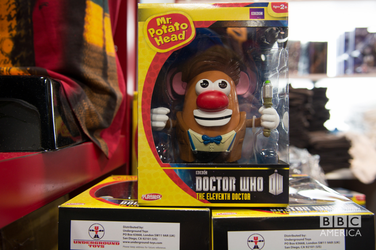 The Eleventh Doctor Mr. Potato Head. (Photo: Dave Gustav Anderson)