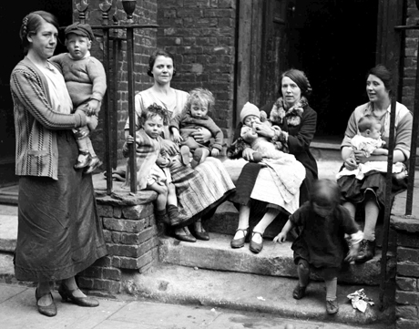 1928, Mums with their babies