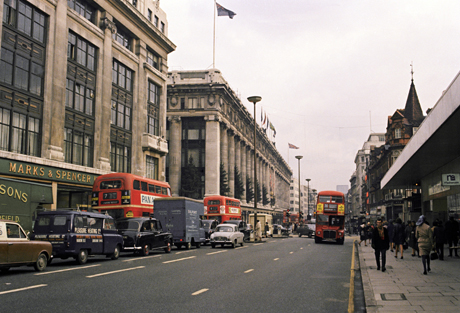 Oxford Street UK 1966