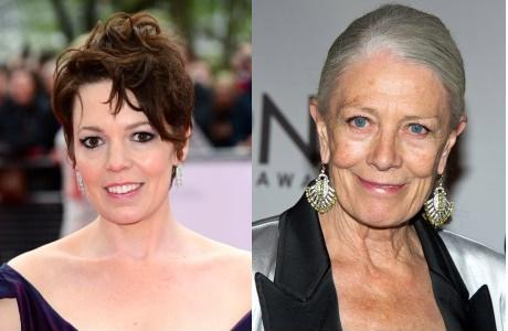 Olivia Colman (left) will be playing Margaret Lea, and Vanessa Redgrave (right) will play Vida Winter.