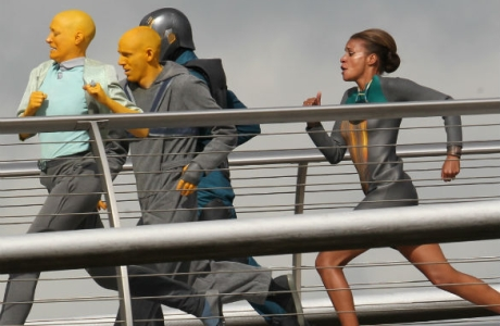 'Guardians of the Galaxy' filming in London (Photo: WENN)