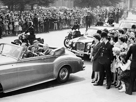 President John Kennedy                  England