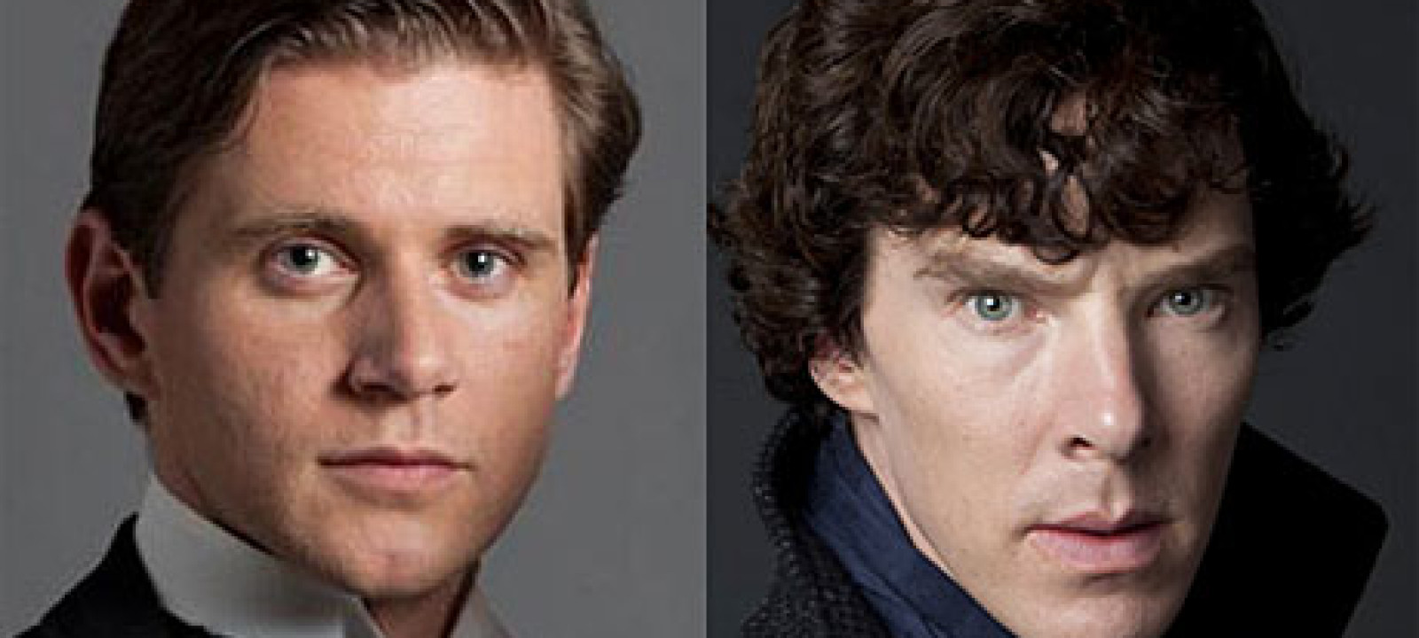 Alan Leech and Benedict Cumberbatch