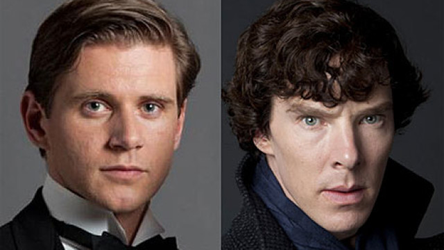 Alan Leech and Benedict Cumberbatch
