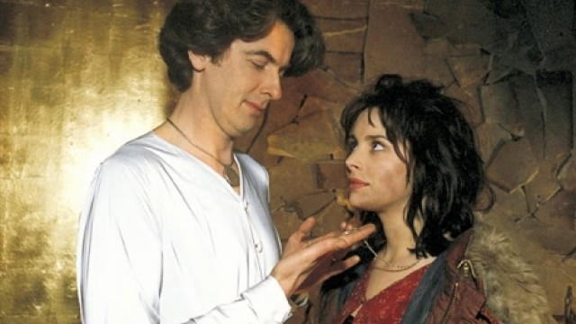 Peter Capaldi and Laura Fraser in 'Neverwhere' (BBC)