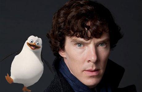 Benedict Cumberbatch and friend
