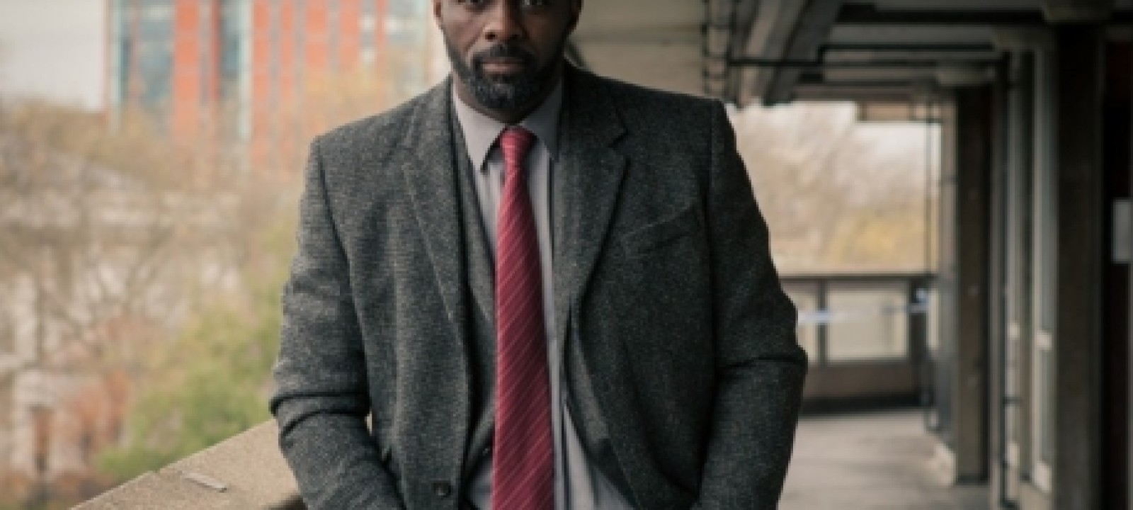Idris Elba in 'Luther' (BBC)