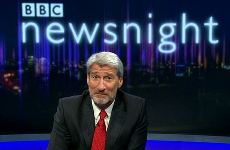 Jeremy Paxman, host of 'Newsnight', plus beard (BBC)