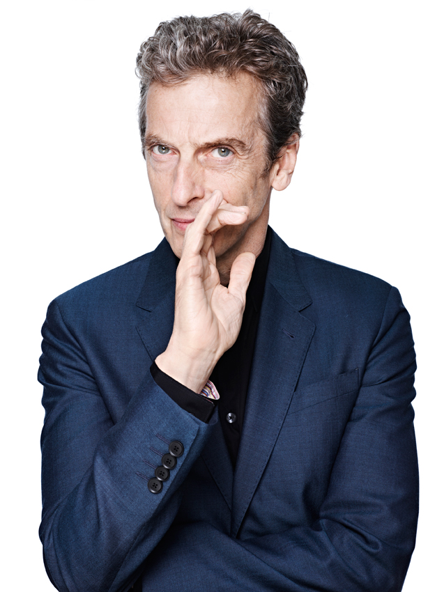 Peter Capaldi, the newly unveiled star of BBC AMERICA's 'Doctor Who' (Photo: BBC)