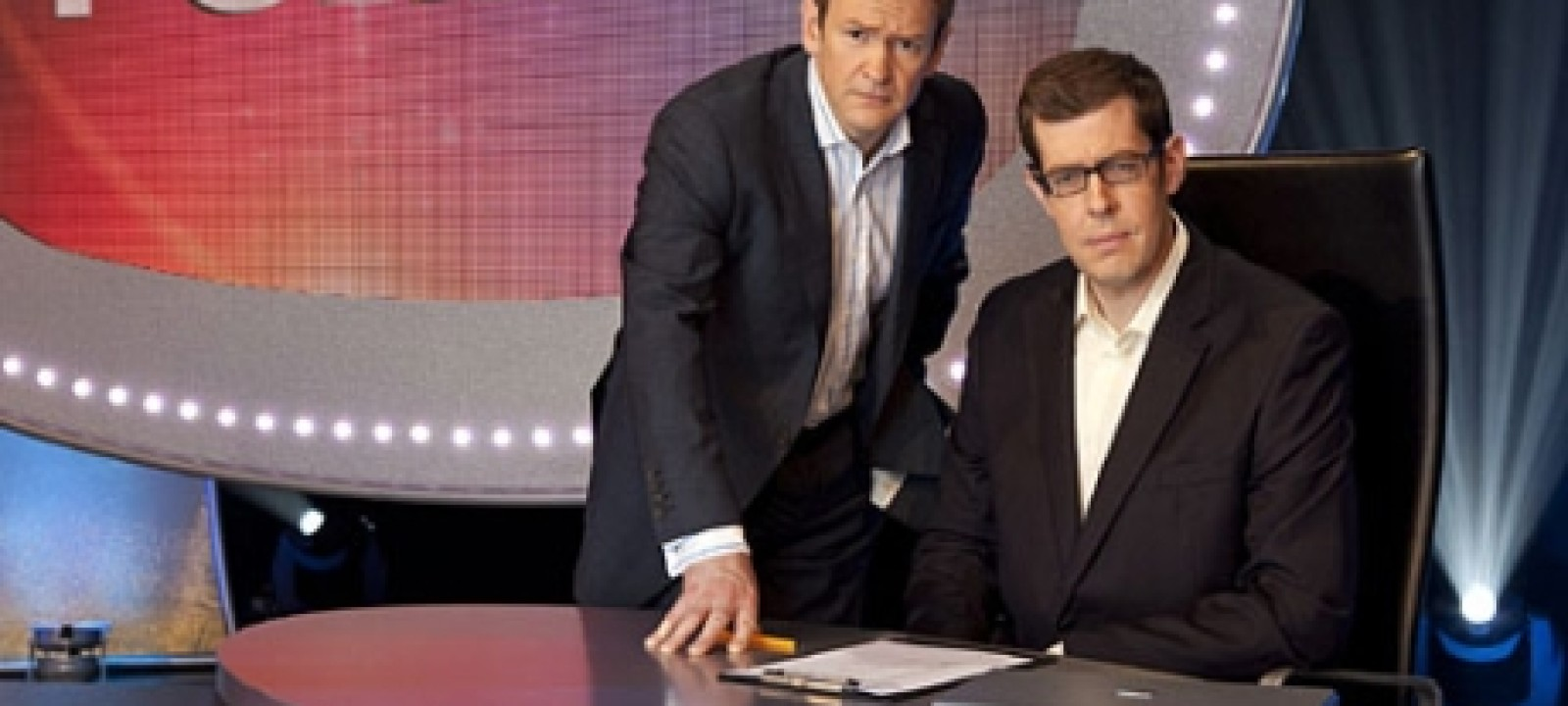 Alexander Armstrong and Richard Osman of 'Pointless' (BBC)