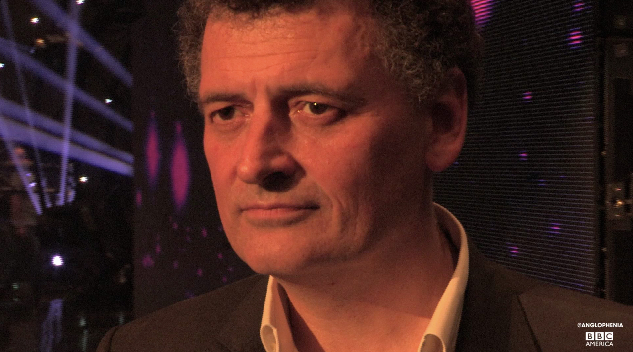Steven Moffat after the announcement of Peter Capaldi as the Twelfth Doctor.
