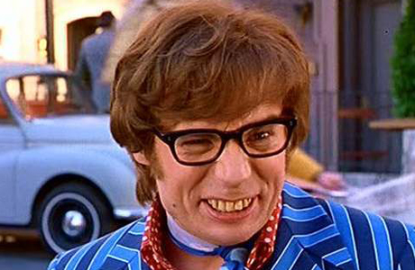 Austin Powers' jaundiced grin has not helped Britain's rep for poor dental hygiene. (Photo: New Line)