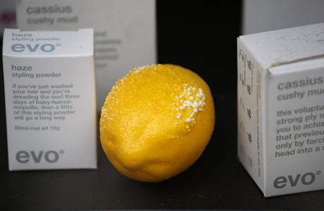 A lemon blisters in the reflection of the skyskraper. (AP)