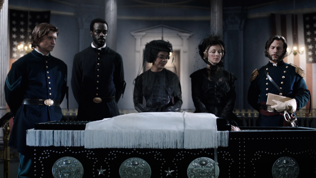 Corcoran, the Morehouses' and the Freemans mourn the loss of President Lincoln.