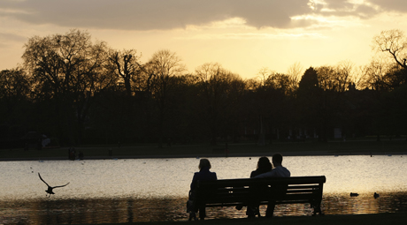 Kensington Gardens. (AP)