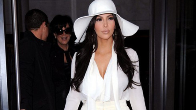 Kim Kardashian Breaks The No White Rule After Labor Day