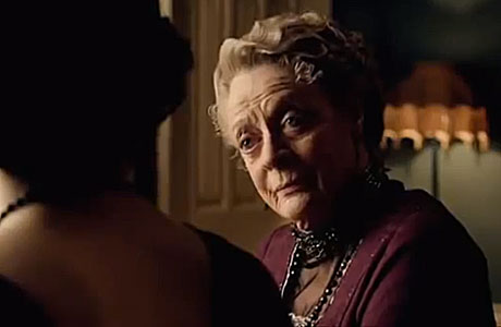 Dame Maggie Smith in the trailer for season four of 'Downton Abbey'