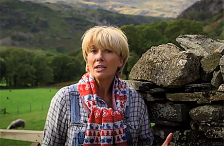 Emma Thompson in Cumbria, on the trail of Peter Rabbit