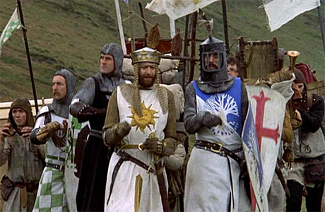 'Monty Python and the Holy Grail': good knights.
