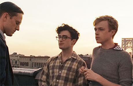 Michael C Hall, Daniel Radcliffe and Dane DeHaan in 'Kill Your Darlings'