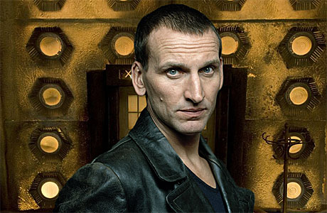 Chrisopher Eccleston as the Ninth Doctor