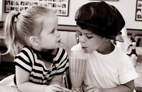 Kids in America find an appreciation for food. (Photo via WeHeartIt)
