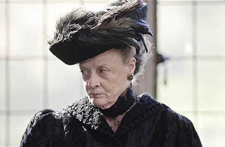 Dame Maggie Smith at her stoic Dame Maggie Smith-iest. (Photo: ITV/PBS Masterpiece)