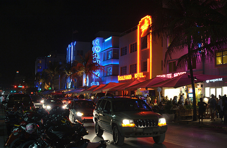 Brits flock to the warmth, white sands and nightlife in Miami, Florida. (Photo: Wikimedia Commons)