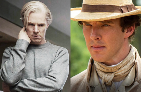Benedict Cumberbatch takes on two very different roles. (Dreamworks/Regency)