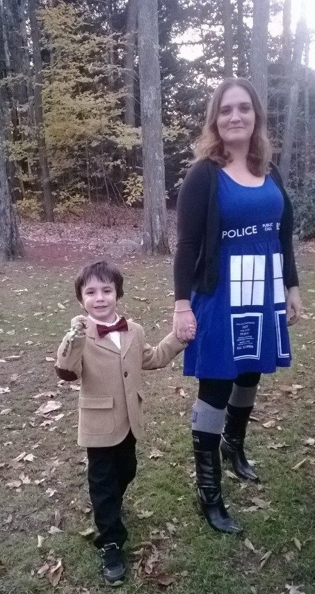 The Doctor can't go trick-or-treating without the TARDIS.