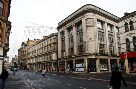 The department store where Rose Tyler worked.