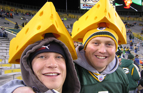 Greenbay Packer fans don't seem to mind the Cheesehead nickname. (Flickr)