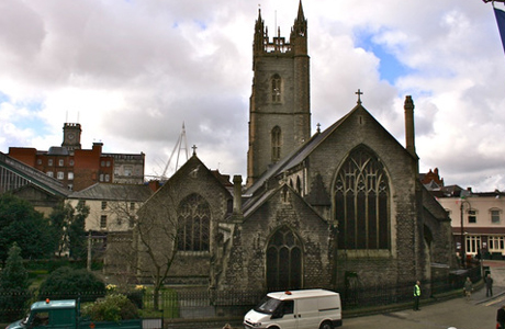 The Parish of St. Paul where the Doctor and Rose seek safety from the Reapers.