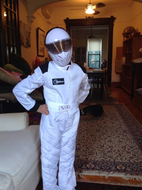 Julie Rosenberg's lil' chose the anonymous The Stig.
