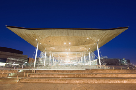 Welsh Assembly Building. (AP)