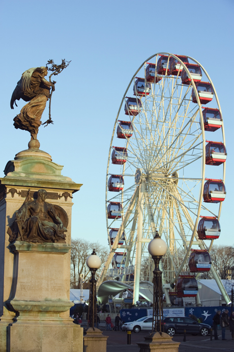 Winter Wonderland Big Wheel. (AP)