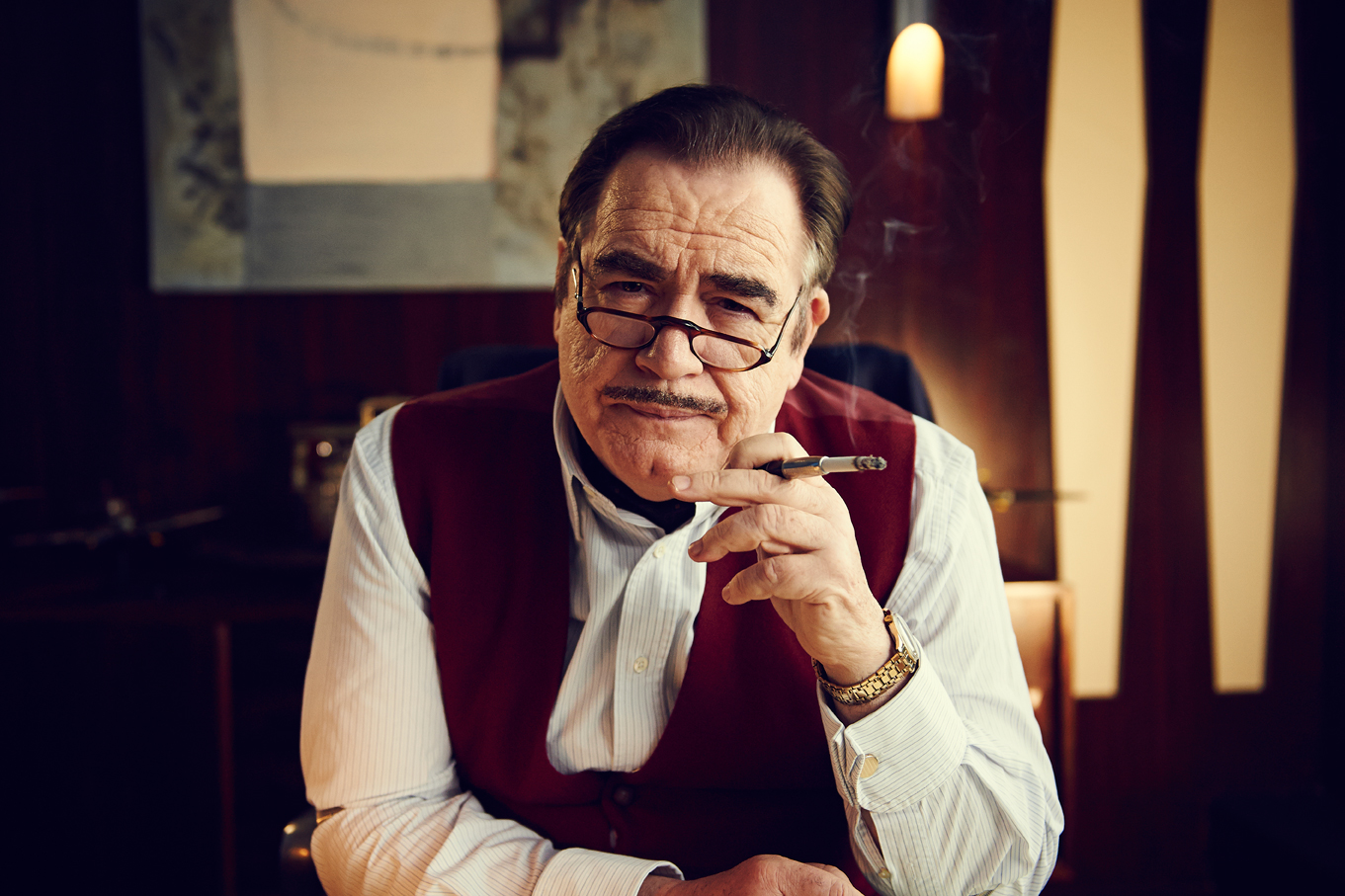 Brian Cox as 'Doctor Who' co-creator Sydney Newman in 'An Adventure in Space and Time' (Photo: BBC AMERICA)