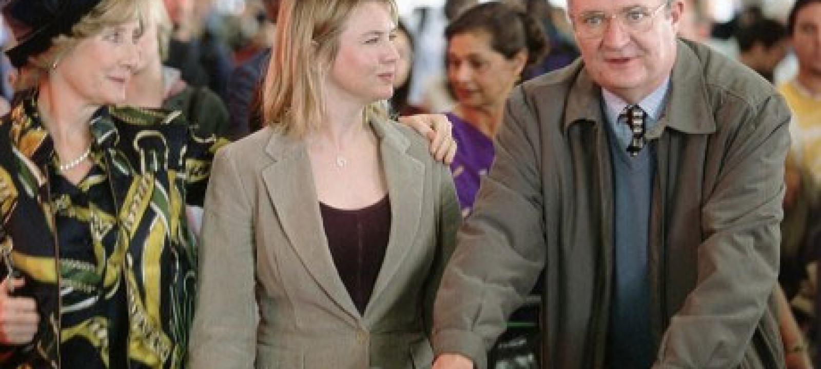 bridgetjonesJim Broadbent (R) and Renee Zellweger in 'Bridget Jones: the Edge of Reason'