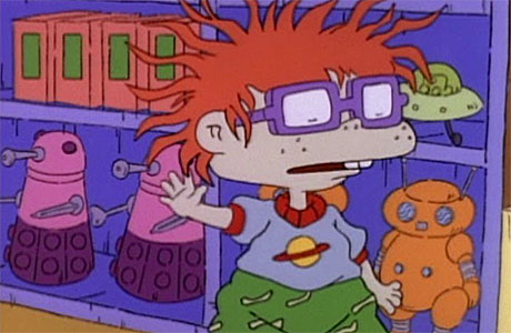 The fearful pink Daleks of 'Rugrats'