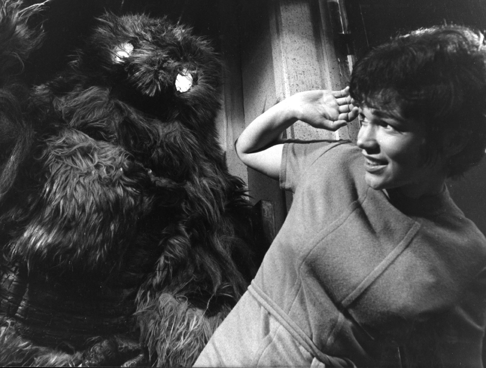 Tina Packer in 'The Web of Fear' (Photo: BBC)