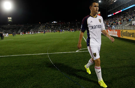 Real Salt Lake's Luis Gil represents the future of U.S. soccer. (Photos: AP Photo/David Zalubowski)