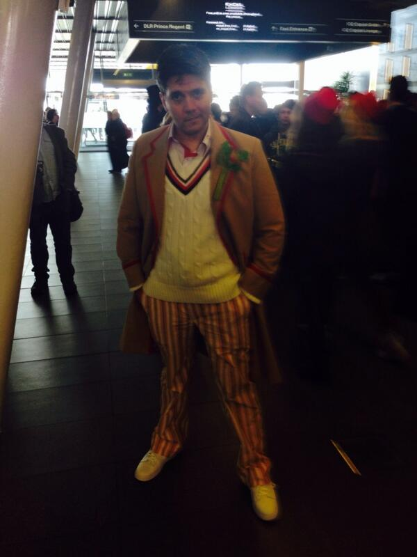 Steven R. as the Fifth Doctor (Photo: KW)