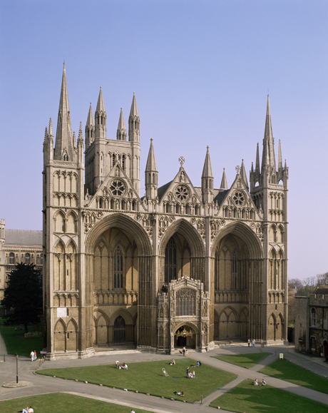 Peterborough Cathedral, Peterborough, Cambridgeshire, England. (Photo by: Robert Harding Productions /AP Images)