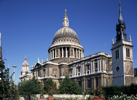 St. Paul's Cathedral, London, England. (Photo by: Charles Bowman/Robert Harding /AP Images)