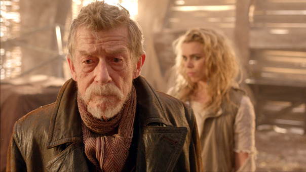 John Hurt and Billie Piper in 'The Day of the Doctor' (Photo: BBC AMERICA)