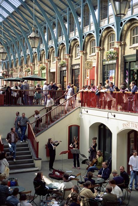Covent Garden. (AP)